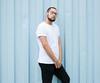 _CLE9121-Editar (Cleison Silva) Tags: boy modelo barba oculos indie azul sãopaulo barueri urbano art retrato