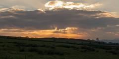 Golden Sky (warth man) Tags: lx100 panasoniclx100 goldensky sunbeams rays landscape southlakeland englishlakedistrict