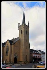 Kirche Beaufort (Luxemburg) (LOMO56) Tags: kircheninluxemburg kirchtrme kirchen kapellen iglesias towerstorritorrestourstrme towers torri torres tours trme beaufort