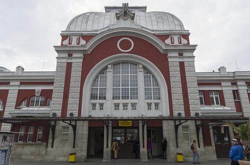Varna railway station, 08.10.2014.
