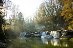 Respiration (Conrad Zimmermann) Tags: 2016 automne cascade chute eau fall hiking nature randonnée saison season suisse switzerland water rue fribourg ch