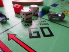 Arrow (dianereynolds) Tags: macromondays monopoly arrow