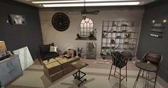 Warehouse (Aigre) Tags: consignment vibes soy junk jian floorplan ni apple fall fd