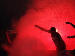 NK Maribor (nemico publico) Tags: fussball slovenia ljubljana fans pyro maribor nk ultras fanatics fusball olimpia