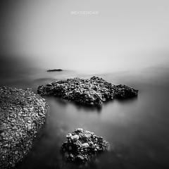 pose longue mer-2 (reycedcar) Tags: andaluca noiretblanc es paysage espagne nerja frigiliana mermediterrane poselongue mermediterra