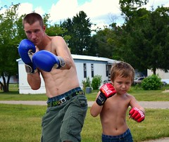 father and son (SheldonFoto) Tags: new digital kid cool nice nikon dad michigan awesome extreme son august boxer athletes boxing fatherandson punches nicepicture puremichigan d3300 sheldonfoto