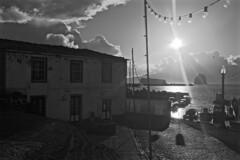 Madalena harbour. (clicheforu) Tags: ocean light urban sun clouds port puerto island cityscape harbour atlantic porto pico azores madalena acores clicheforu