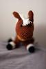 Legend of Zelda: Epona (deadcraft) Tags: horse pets brown black game cute love animals toy video doll handmade crochet nintendo like craft games plush link animation zelda series toon custom amigurumi legend epona deadcraft