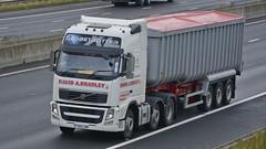 PX60 CNN (panmanstan) Tags: truck wagon volvo motorway yorkshire transport lorry commercial vehicle fh freight sandholme bulk m62 haulage hgv