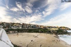 IMG_0923 (Joseph Hui (J_HUI)) Tags: ocean longexposure people cloud sun beach water bondi canon landscape sand rocks sydney 1740 6d tamarama jhui