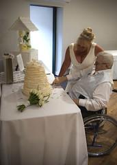 Linda & Terry Wedding 8 (char_drury) Tags: wedding blackandwhite colour groom bride firstdance motherofthebride cakecutting firstkiss weddingphotography