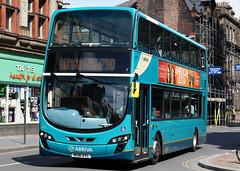 4452 MX61 AYL (Cumberland Patriot) Tags: west bus buses liverpool floor low north ii wright gemini merseyside on arriva in 4452 vdl wrightbus sb300 mx61ayl