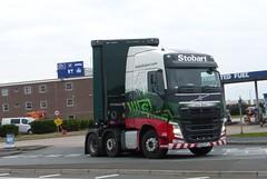 H4220 - KU15 VTJ (Cammies Transport Photography) Tags: road truck volvo lucy grace lorry eddie carlisle fh esl parkhouse stobart eddiestobart vtj h4220 ku15 ku15vtj