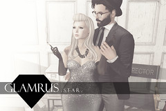 Glamrus . Star AD (Glamrus) Tags: life new cute sexy fashion vintage pose star couple pretty mesh events sl secondlife hollywood second glam avenue exclusive poses props glamrus slpose meshavenue