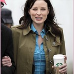 Rachel Nichols on the set of Continuum in Vancouver, B.C. thumbnail