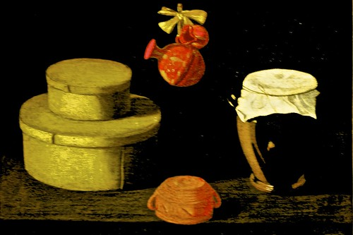 Still life with boxes and pottery (c. 1660) - Josefa de Ayala (1630 - 1684)