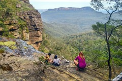 Blue Mountains (Sougata2013) Tags: mountain landscape hill sydney australia bluemountains newsouthwales hilltop nikond3200