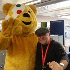 PD3 with Pudsey Bear. (PD3.) Tags: bear children bbc need pudsey 2015 pd3childreninneed