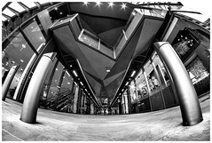 One New Change Shopping Mall (kevingrieve610) Tags: new london public mall shopping one fisheye change 8mm depth cheapside xm1 samyang fujixm1