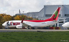 T'Way Air 737-800 HL8056 (birrlad) Tags: ireland dublin painting airplane airport ramp aircraft aviation air airplanes hangar apron international korean airline maintenance parked boeing airways airlines dub airliner 737 b737 737800 lowcost b738 tway 7378as eirtech hl8056