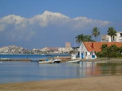 Mar Menor (Sonia.Solano) Tags: blue sea beach boat mar murcia marmenor lamangadelmarmenor bote