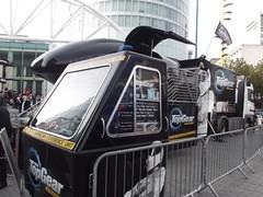 BBC Top Gear - Rotunda Square, Bullring (ell brown) Tags: greatbritain england birmingham jessica unitedkingdom lorry bbc rotunda simulator westmidlands bullring topgear jeremyclarkson chrisevans richardhammond thestig jamesmay bbctopgear rotundasquare topgearexperience clarksonhammondmay