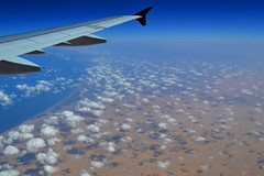 Little puffy clouds as we cross to the Med, September 2012 (window seat 6) (5telios) Tags: sea clouds nikon egypt qatar windowseat 1855mmf3556gvr nikond3100