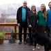 Walter, Susie, Mi e Roy e sua bela vista