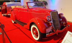 1935 Ford Convertible Sedan & Tear Drop Trailer 1 (Jack Snell - Thanks for over 26 Million Views) Tags: sf auto show ca 58th wallpaper art cars ford wall sedan vintage paper san francisco display convertible center drop international trailer collectible tear moscone 1935 excotic jacksnell707 jacksnell accadomy