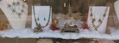Christmas window decor (madalina_pt) Tags: christmas camera winter light red holiday snow tree green window season lens globe nikon decorating decor ideas 18105mm d7200