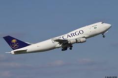 LFPG 27 septembre 2015 Boeing 747 Saudia Cargo TC-AJC (gastounetaero) Tags: airport aircraft planes aeroport aeropuerto cdg aiplane spotter lfpg schmierblutungen gastounetaero