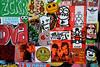 stickercombo (wojofoto) Tags: amsterdam streetart stickers stickercombo stickerart sticker wojofoto wolfgangjosten wojo pressone zckr isoe hallokarlo yatusabes ottoschade
