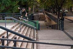 flip a la gorda (Andrs Navarro Garca) Tags: mendoza flip skate handrail grind baranda latabla cosechaskates brujulatour