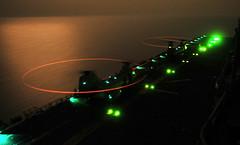 110717-N-ZS026-142 (Photograph Curator) Tags: navy helicopters usnavy flightdeck refuel flightops evileyes ch46seaknight amphibiousassaultship gulfofaden hmm163 ussboxerlhd4 nightflightoperations marinemediumhelicoptersquadron163