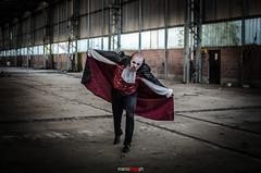 DSC_6552 (Marco Frig Photographer) Tags: girls red urban black halloween work project dark costume nikon artist factory vampire story horror diaries vampiri