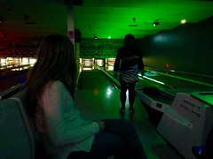 New Year's Eve Bowling! (Polterguy30) Tags: silhouette bowling newyearseve