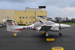 OE-FSJ DA42 Twin Star (eigjb) Tags: ireland light dublin plane airplane star airport general aircraft aviation january twin diamond spotting weston 2016 da42 eiwt oefsj