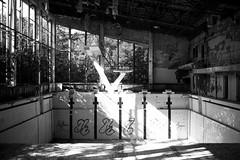 Chernobyl #2 (momentaryawe.com) Tags: travel blackandwhite europe shadows roadtrip ukraine swimmingpool chernobyl travelphotography catalinmarin momentaryawecom dubaitoromania
