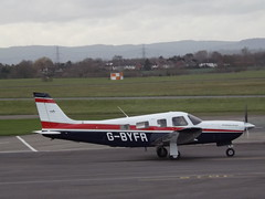 G-BYFR Piper Saratoga (Aircaft @ Gloucestershire Airport By James) Tags: james airport saratoga gloucestershire piper lloyds pa32 egbj gbyfr