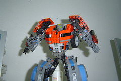 DSC00167 (demon14082001) Tags: car truck prime robot lego transformers vehicle optimus mecha transform fallofcybertron