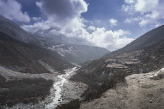 Tengboche to Dingboche (10km) (sebastianmtnez) Tags: mountains trekking trek himalayas tengboche dingboche
