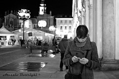 Urban girl (il_presidente) Tags: torino nikon turin piedmont piazzasancarlo d7000 nikonclubit