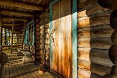Hyypi rental hut, Liesjrvi National Park Finland (PaiviSvanback) Tags: autumn forest suomi finland landscape mets syksy liesjrvi liesjrvinationalpark