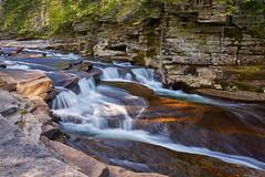 Light on the falls (Tim Ravenscroft) Tags: waterfall lowerammonoosucfalls landscape rocks whitemountains new hapmshire nh usa