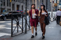 Street Urchins (ViewFromTheStreet) Tags: allrightsreserved bigapple blick blickcalle blickcallevfts calle candid copyright2016 manhattan nyc newyork newyorkcity photography stphotographia streetphotography streeturchins urchins viewfromthestreet amazing beard beret cap chest classic couple female girl guy hairychest hat hotdog jacket male man outfit portrait red redoutfit redshorts scruffy shorts street streetportrait vftsviewfromthestreet whitesocks woman blickcallevfts copyright2016blickcalle