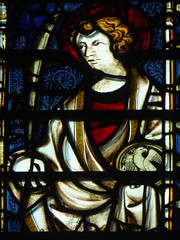 St John (Aidan McRae Thomson) Tags: york minster cathedral yorkshire stainedglass window medieval