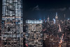 One and Seven World Trade Center (RBudhu) Tags: 432parkavenue 50weststreet bankofamericatower cityscape empirestatebuilding fidi fifthavenue financialdistrict fourtimessquare longexposure metlifebuilding newyorkcity oneworldtradecenter worldtradecenter
