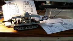 A7V tank WIP (Yitzy Kasowitz) Tags: a7v tank lego brickmania brickarms ww1 wwi
