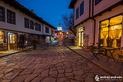 The old part of Tryavna, Bulgaria