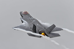 Lockheed Martin F-35A Lightning II - 34 (NickJ 1972) Tags: raf fairford riat royalinternationalairtattoo aviation 2016 airshow lockheed martin f35 lightning ii 125042 lf